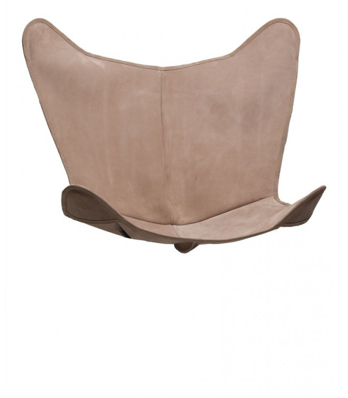BKF CHAIR COVER IN DARK BROWN LEATHER