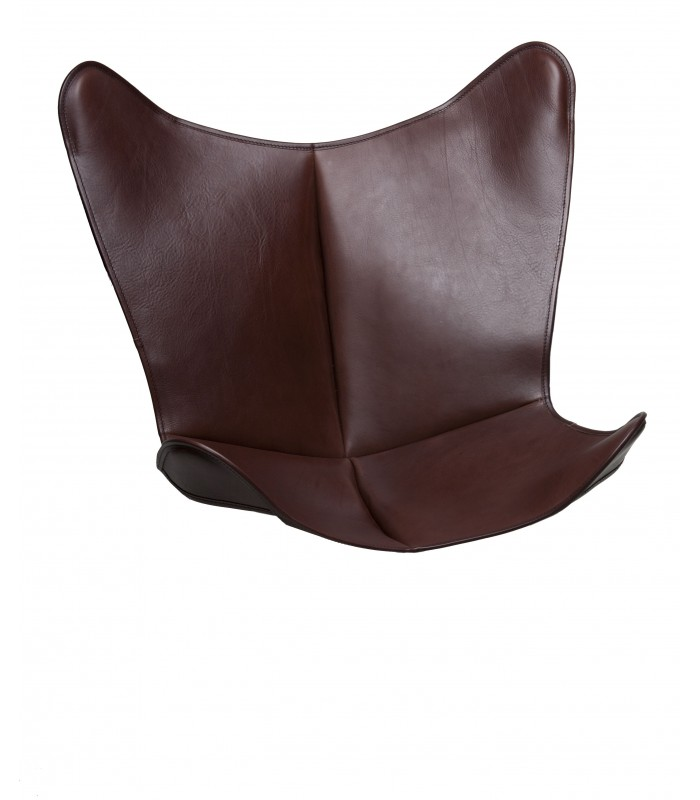 BKF CHAIR COVER IN NATURAL LEATHER