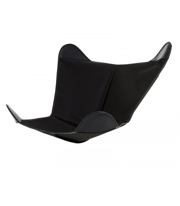BKF CHAIR COVER IN BLACK CANVAS