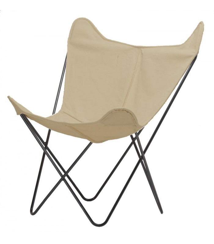 BKF CHAIR IN BEIGE CANVAS