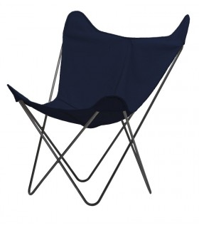 BKF CHAIR IN NAVY BLUE