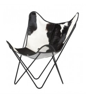 BKF CHAIR IN COWHIDE
