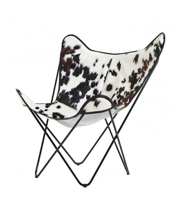 BKF CHAIR IN NORMANDE COWHIDE
